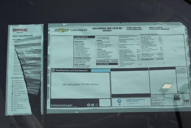 2020 Express 3500 RWD, Knapheide KUV Service Utility Van #T11419 - photo 14