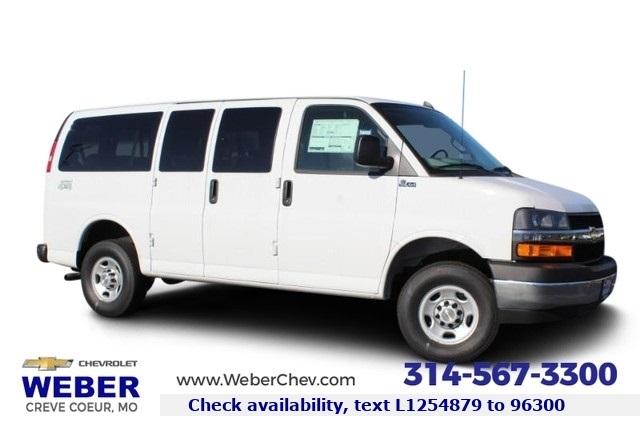 2020 Chevrolet Express 3500 4x2, Quigley Motor Company Passenger Wagon #T12242 - photo 1