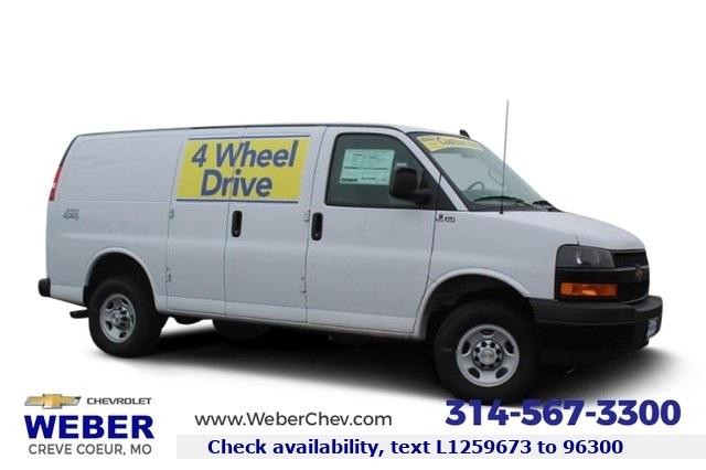 2020 Chevrolet Express 3500 4x2, Empty Cargo Van #T12426 - photo 1