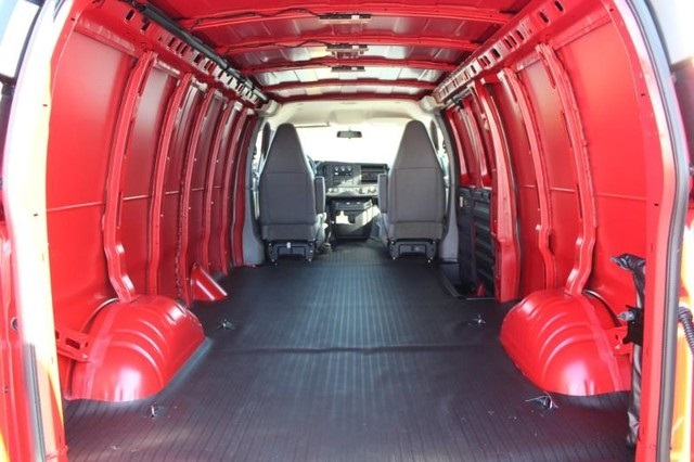 2020 Chevrolet Express 3500 4x2, Quigley Motor Company Empty Cargo Van #T12456 - photo 1