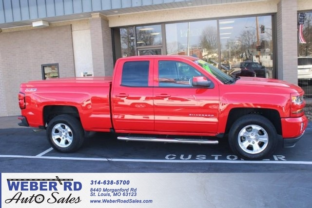 2017 Chevrolet Silverado 1500 Double Cab 4x4, Pickup #WT12554A - photo 1