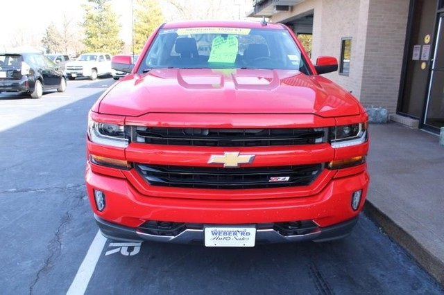 2017 Chevrolet Silverado 1500 Double Cab 4x4, Pickup #WT12554A - photo 10