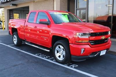 2017 Chevrolet Silverado 1500 Double Cab 4x4, Pickup #WT12554A - photo 4