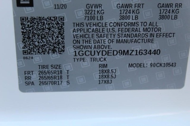 2021 Chevrolet Silverado 1500 Crew Cab 4x4, Pickup #T12852 - photo 22