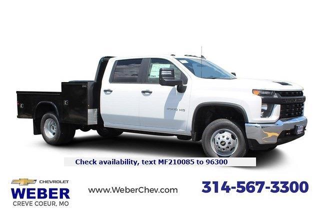 2021 Chevrolet Silverado 3500 Crew Cab 4x4, Knapheide Hauler Body #T13317 - photo 1