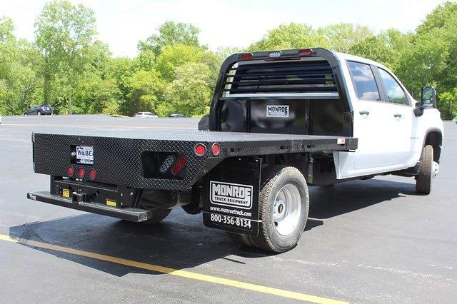 2021 Chevrolet Silverado 3500 Crew Cab 4x4, Hillsboro Platform Body #T13328 - photo 2