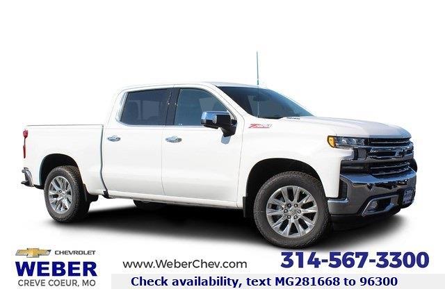 2021 Chevrolet Silverado 1500 Crew Cab 4x4, Pickup #T13330 - photo 1