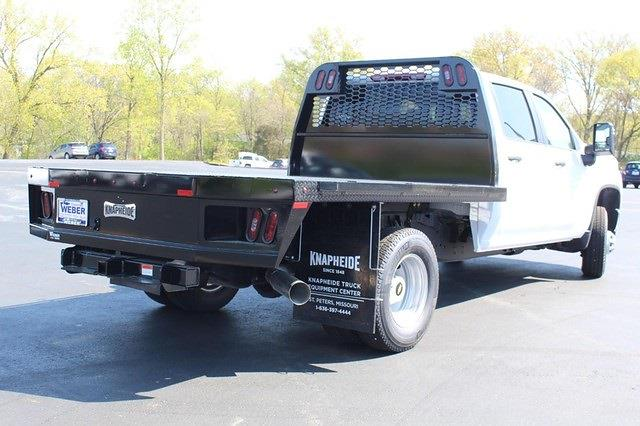 2021 Chevrolet Silverado 3500 Crew Cab 4x4, Knapheide Platform Body #T13334 - photo 1