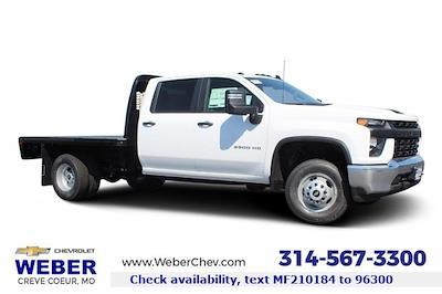 2021 Chevrolet Silverado 3500 Crew Cab 4x4, Knapheide PGNB Gooseneck Platform Body #T13334 - photo 1