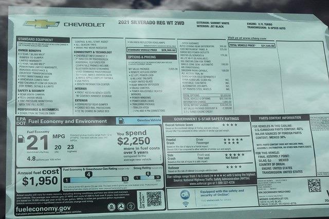 2021 Chevrolet Silverado 1500 Regular Cab 4x2, Pickup #T13358 - photo 17