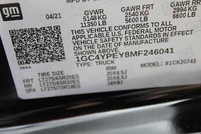 2021 Chevrolet Silverado 2500 Crew Cab 4x4, Pickup #T13367 - photo 22