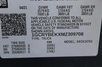 2021 Chevrolet Silverado 1500 Double Cab 4x4, Pickup #T13432 - photo 18