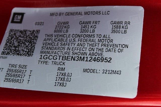 2021 Chevrolet Colorado Crew Cab 4x4, Pickup #T13482 - photo 16