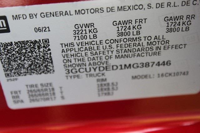 2021 Chevrolet Silverado 1500 Crew Cab 4x4, Pickup #T13607 - photo 21