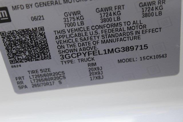 2021 Chevrolet Silverado 1500 Crew Cab 4x4, Pickup #T13622 - photo 20
