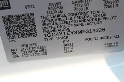 2021 Chevrolet Silverado 3500 Crew Cab 4x4, Pickup #T13651 - photo 20