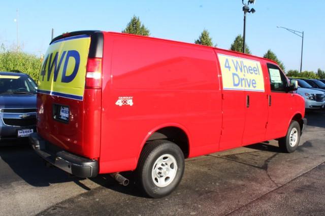 4X4 Van For Sale >> 2018 Express 3500 4x4 Empty Cargo Van Stock T8684