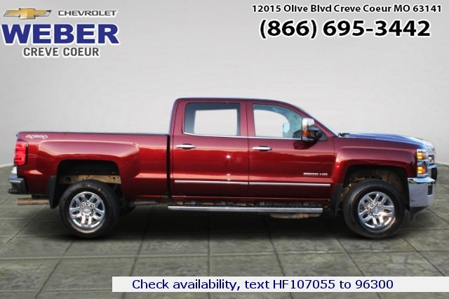 2017 Chevrolet Silverado 2500 Crew Cab 4x4, Pickup #T9487A - photo 1