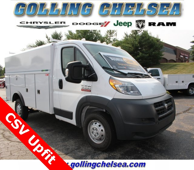 2018 ProMaster 3500 Standard Roof FWD,  Reading Aluminum CSV Service Utility Van #183174 - photo 1
