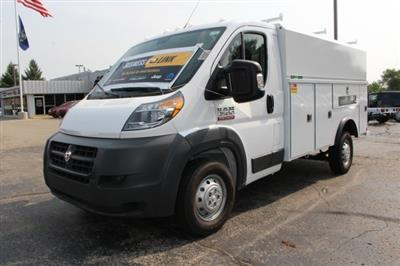 2018 ProMaster 3500 Standard Roof FWD,  Reading Aluminum CSV Service Utility Van #183174 - photo 11