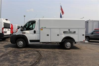 2018 ProMaster 3500 Standard Roof FWD,  Reading Aluminum CSV Service Utility Van #183174 - photo 4