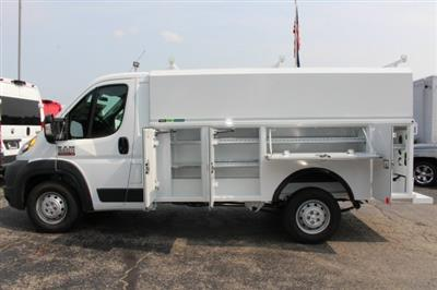 2018 ProMaster 3500 Standard Roof FWD,  Reading Aluminum CSV Service Utility Van #183174 - photo 8