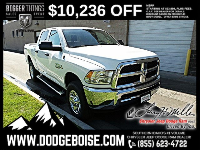 2018 Ram 2500 Crew Cab 4x4,  Pickup #R333930 - photo 1