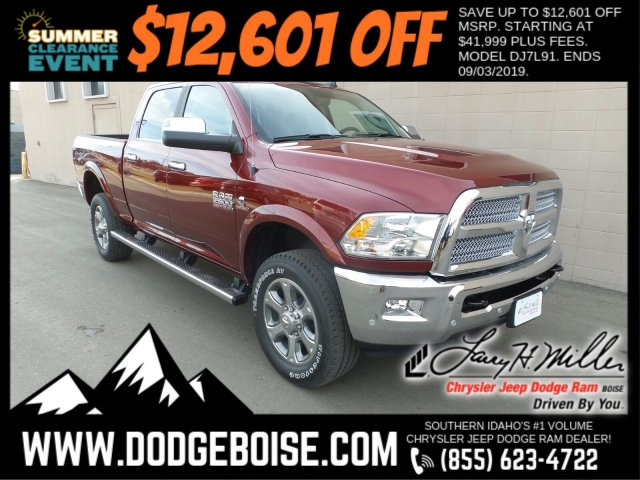 2018 Ram 2500 Crew Cab 4x4,  Pickup #R358317 - photo 1