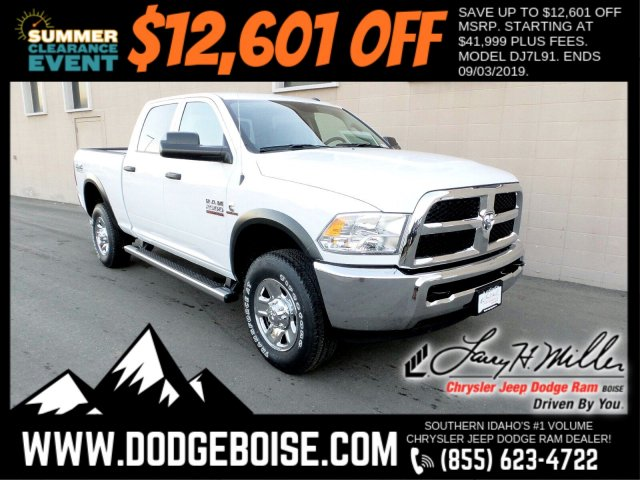 2018 Ram 2500 Crew Cab 4x4,  Pickup #R418403 - photo 1