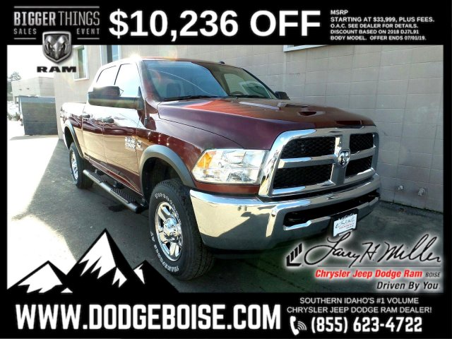 2018 Ram 2500 Crew Cab 4x4,  Pickup #R418406 - photo 1