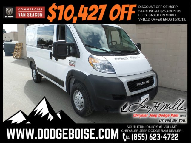 2019 ProMaster 1500 Standard Roof FWD,  Empty Cargo Van #R515831 - photo 1