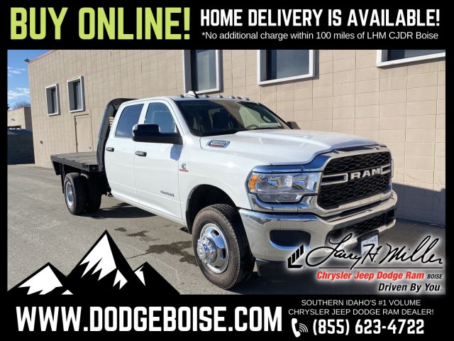 2019 Ram 3500 Crew Cab DRW 4x4, Knapheide Platform Body #R615024 - photo 1