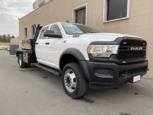 2019 Ram 5500 Crew Cab DRW 4x4, Platform Body #R627059A - photo 4