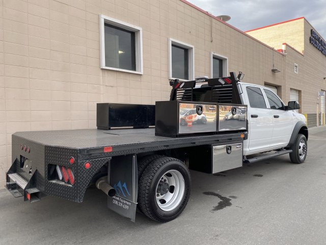 2019 Ram 5500 Crew Cab DRW 4x4, Platform Body #R627059A - photo 2