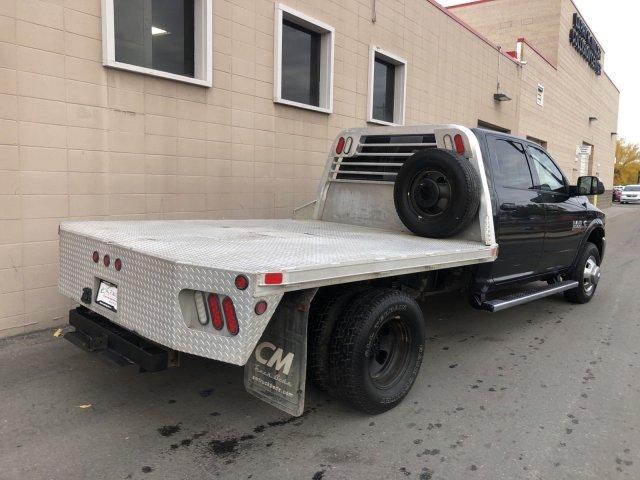 2014 Ram 3500 Crew Cab DRW 4x4, CM Truck Beds Platform Body #R679056A - photo 1