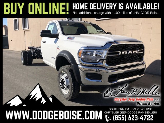 2019 Ram 5500 Regular Cab DRW 4x4, Cab Chassis #R690424 - photo 1