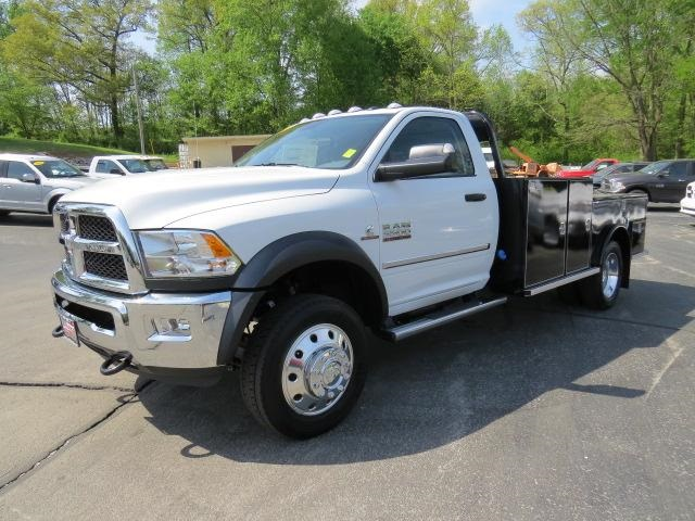 2018 Ram 5500 Regular Cab DRW 4x2,  Wil-Ro Hauler Body #167061 - photo 7