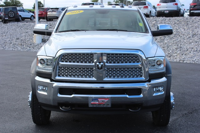 2018 Ram 4500 Crew Cab DRW 4x4,  Hillsboro Platform Body #171107 - photo 3