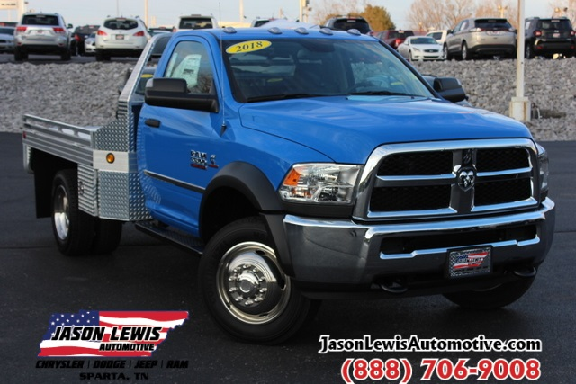2018 Ram 5500 Regular Cab DRW 4x4,  Cab Chassis #183395 - photo 1