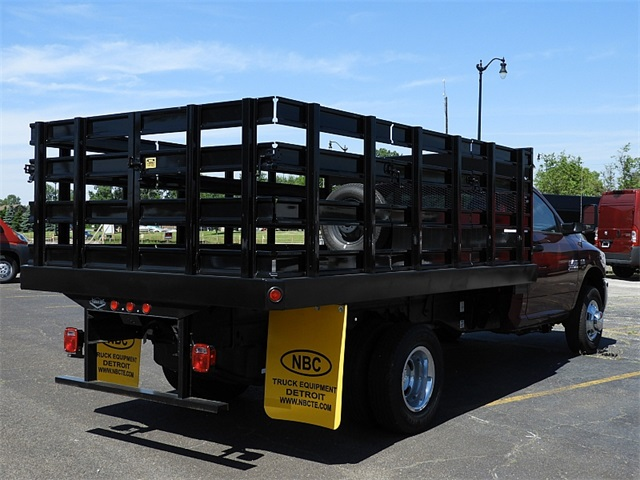 2018 Ram 3500 Regular Cab DRW 4x2,  Parkhurst Stake Bed #8K192 - photo 2