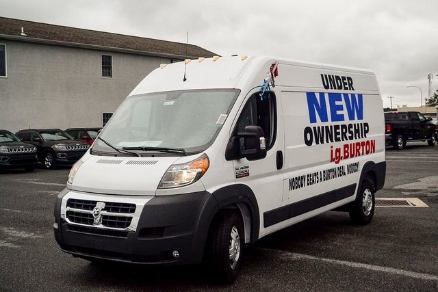 2018 ProMaster 2500 High Roof FWD,  Empty Cargo Van #N18-7011 - photo 8