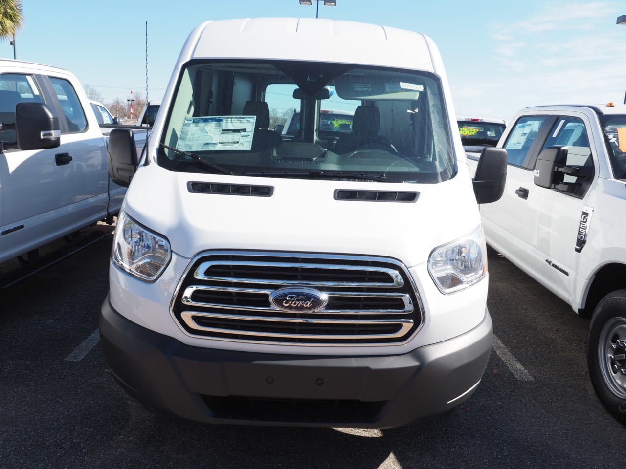 2018 Transit 250 Med Roof 4x2,  Empty Cargo Van #18T0412 - photo 3