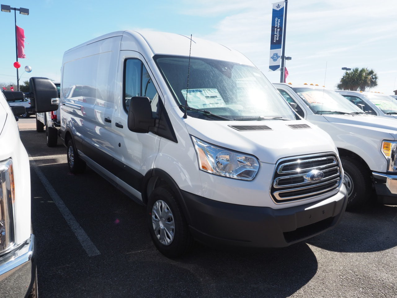 2018 Transit 250 Med Roof 4x2,  Empty Cargo Van #18T0412 - photo 4