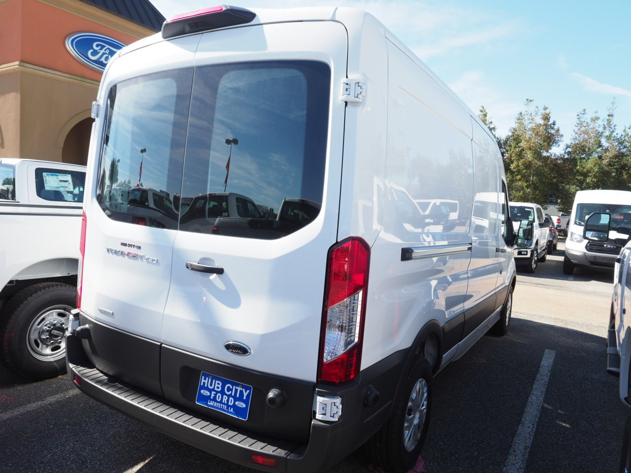 2018 Transit 250 Med Roof 4x2,  Empty Cargo Van #18T0412 - photo 6