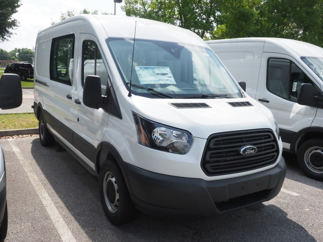 2018 Transit 250 Med Roof 4x2,  Empty Cargo Van #18T0948 - photo 3