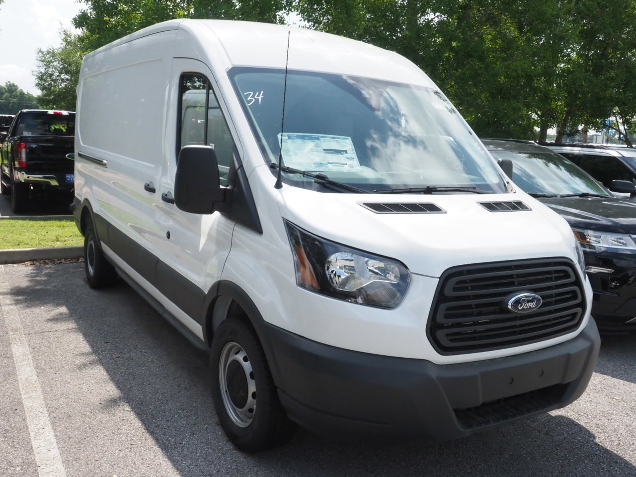 2018 Transit 250 Med Roof 4x2,  Empty Cargo Van #18T0997 - photo 3