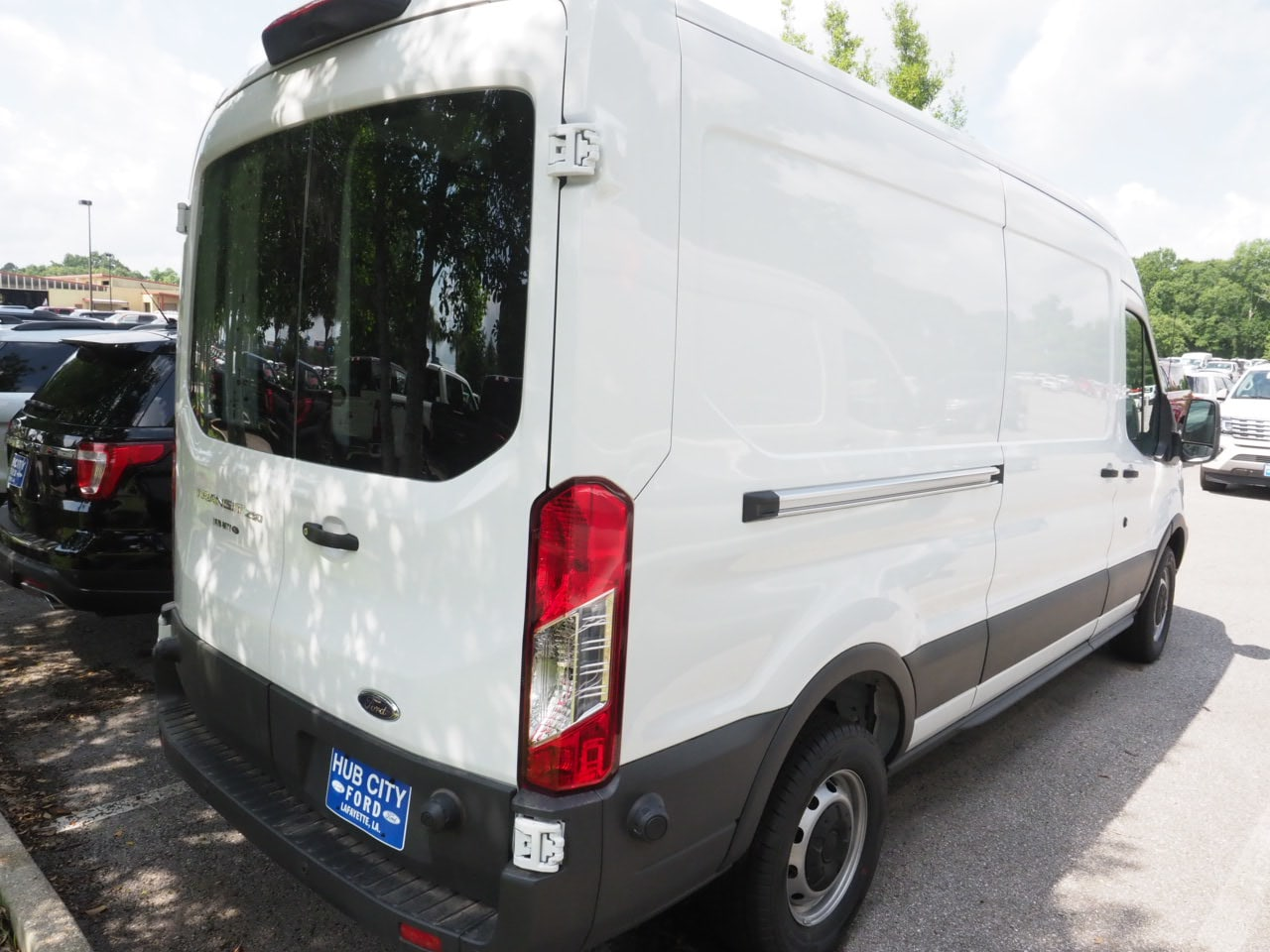 2018 Transit 250 Med Roof 4x2,  Empty Cargo Van #18T0997 - photo 4