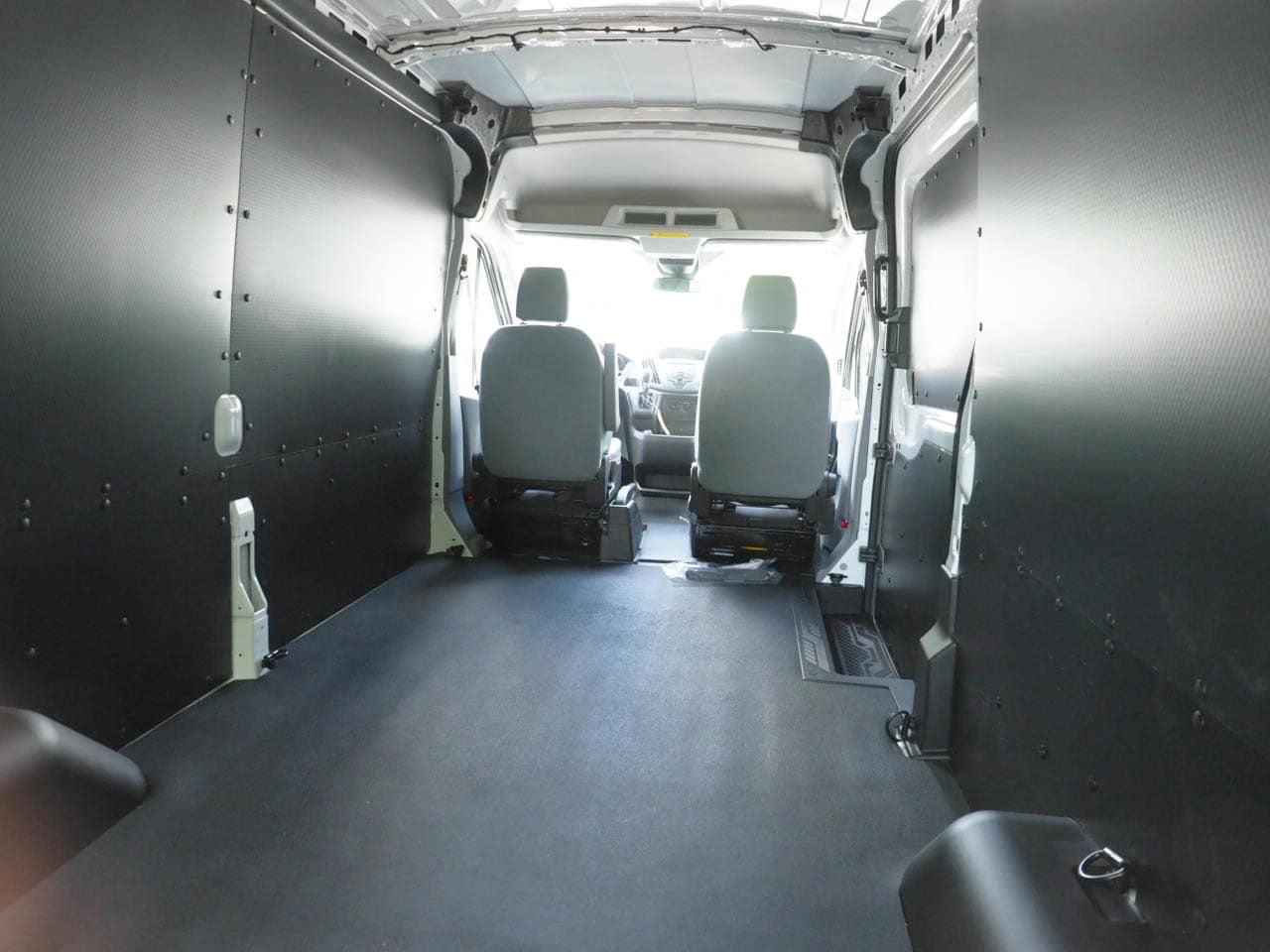 2018 Transit 250 Med Roof 4x2,  Empty Cargo Van #18T0997 - photo 2