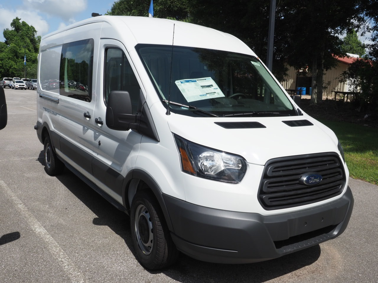 2018 Transit 250 Med Roof 4x2,  Empty Cargo Van #18T1154 - photo 4