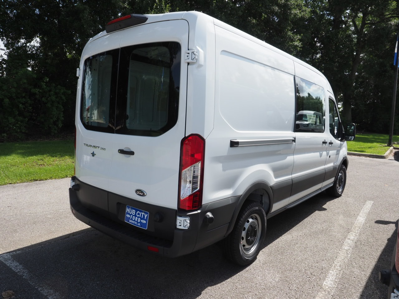 2018 Transit 250 Med Roof 4x2,  Empty Cargo Van #18T1154 - photo 6